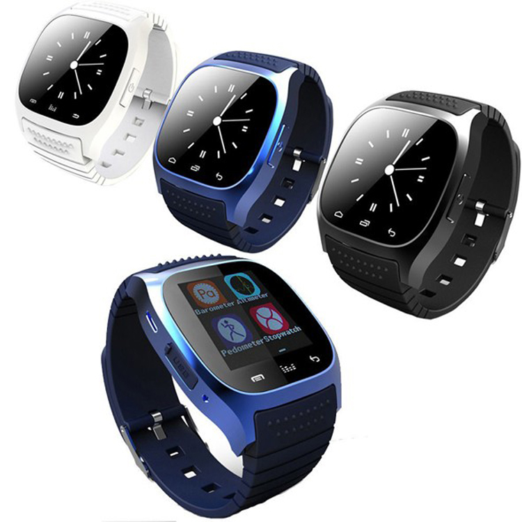 Free shipping Smart watch m26 Bluetooth Phone watch for Android and IOS