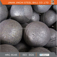 Forged grinding steel ball for grinding coal in power plate