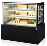 Commercial display cake refrigerator showcase/fridge for pastry