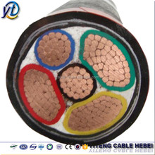 various types of xlpe/pvc insulation copper/aluminum power cable