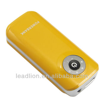 Mobile Power ED810 5200mAh External Battery Portable Back Up Charger Power Bank iPod/iPhone/iPad mobile phone