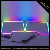 Car led light F150 dream color led angel eyes for ford car projectors