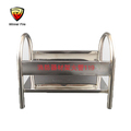 Durable fire extinguisher shelf fire fighting box for house use