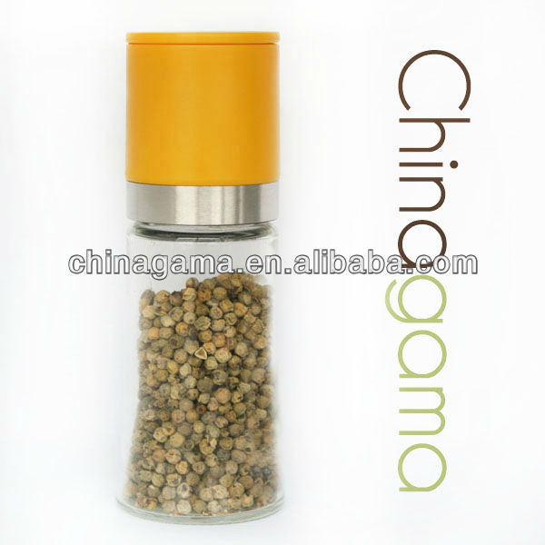 Plastic Manual Spice Herb Mill Container