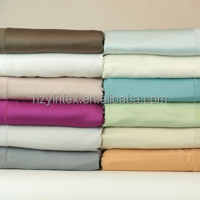 Hot Selling 100% Organic Cotton Fabric for Bed Sheets Bedding Set