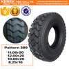 New Truck Tire Pattern 389 Suitable For Mine And Mountain Roads