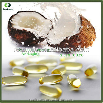 High Quality Coconut oil +CLA softgel capsule Oem 500mg/1200mg
