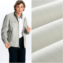65% polyester 35% cotton 150gsm twill ESD striped tc antistatic fabric for workwear