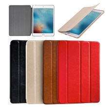 High quality PU leather smart flip cover magnetic case for iPad Pro,for Apple iPad tablet 9.7