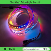 Addressable 3led group change color 5050 digital ws2812b led strip ws2812bb ws2811 led 5050 RGB tape