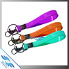Silicone Loop Keychain, Wristband Keyring, Rubber Key Chain