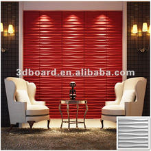 good quality eco-friendly Interior decoration 3-dimensional fiber board