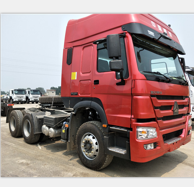 China supplier Sinotruk brand Howo 6x4 420hp tractor truck for sale