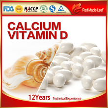 Supplement for pregnant woman health food wholesale Calcium Vitamin D Tablets