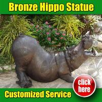98 Popular Desgins Hippo Decor for Garden Decoration