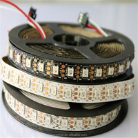 1m/4m/5m WS2812B Smart led pixel strip WS2812 IC 2812b led digital strip