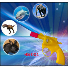 8 logo projector toy gun/light up toys