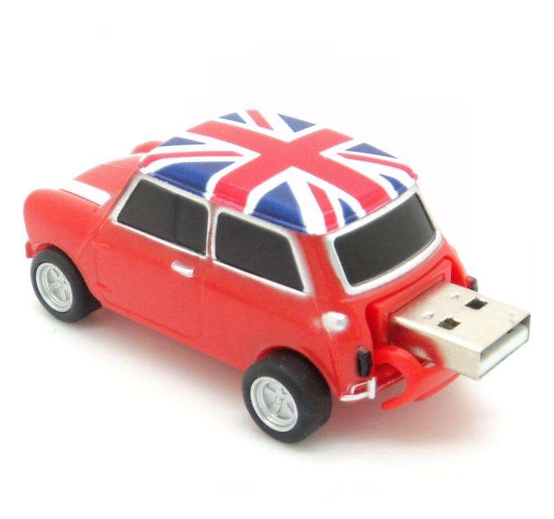 customized logo colorful plastic SUV car shape 2.0 usb flash drive