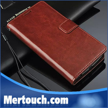 for LG g3 case retro leather flip stand wallet credit card holder case for LG G3 classic brown