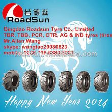 Roadsun brand backhoe tire 17.5l-24