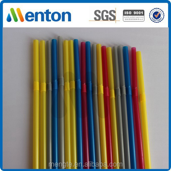yiwu creative commodity factory disposable flexible drinking straws