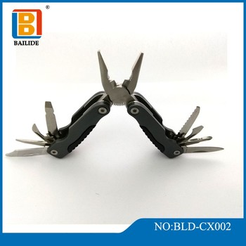 2018 New Hot Sale Stainless Steel Mini Types of Folding Multifunction Hand Tools Pliers Repairing Pliers