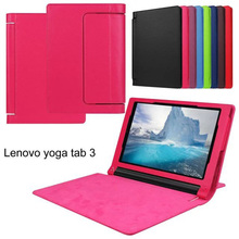 Flip Litchi Line Leather Back Cover Case For Lenovo Yoga Tab 3 850F