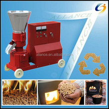 CE high quality small flat die rice husk compress machine/rice husk pellet mill/rice husk pelleter for sale