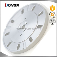 custom stainless steel CNC machining heavy machinery flange with ISO 9001
