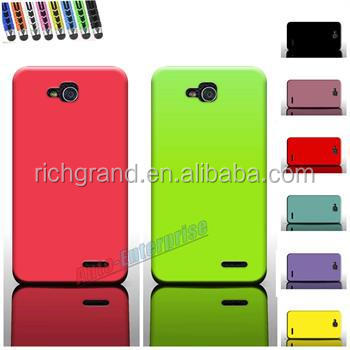 Durable Smooth silicone Rubber Soft Skin Cover Case for LG Optimus L90