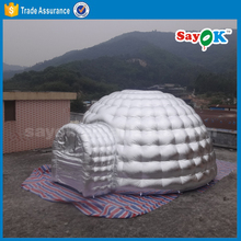 Automatic inflatable igloo camping dome tent for rental