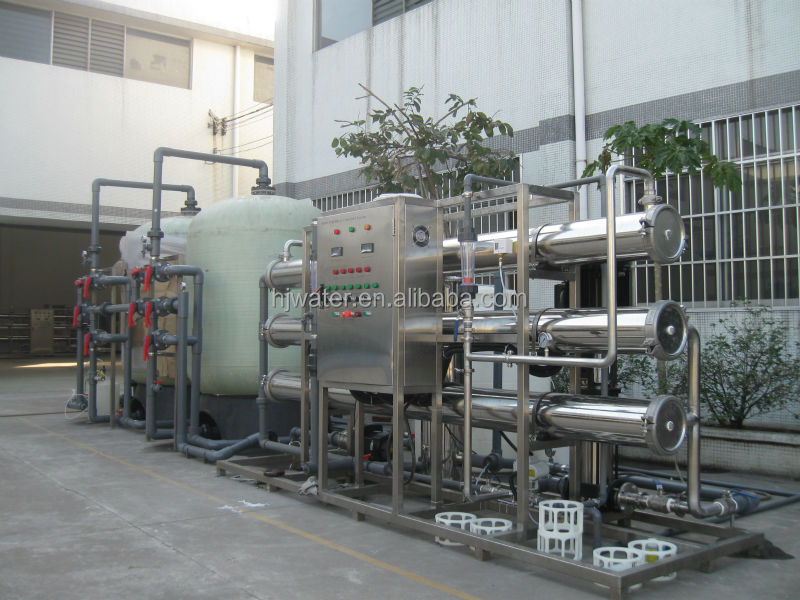 mountain spring water containerized water treatment plant ro water system