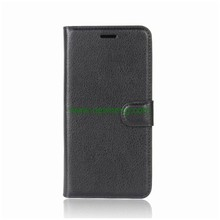 Hot Sale Litchi Grain Flip Pu Leather Card slot Case For Samsung Galaxy S9 Plus