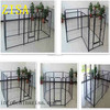 zisa factory folding metal dog pen , dog fence , wire mesh fencing dog kennel