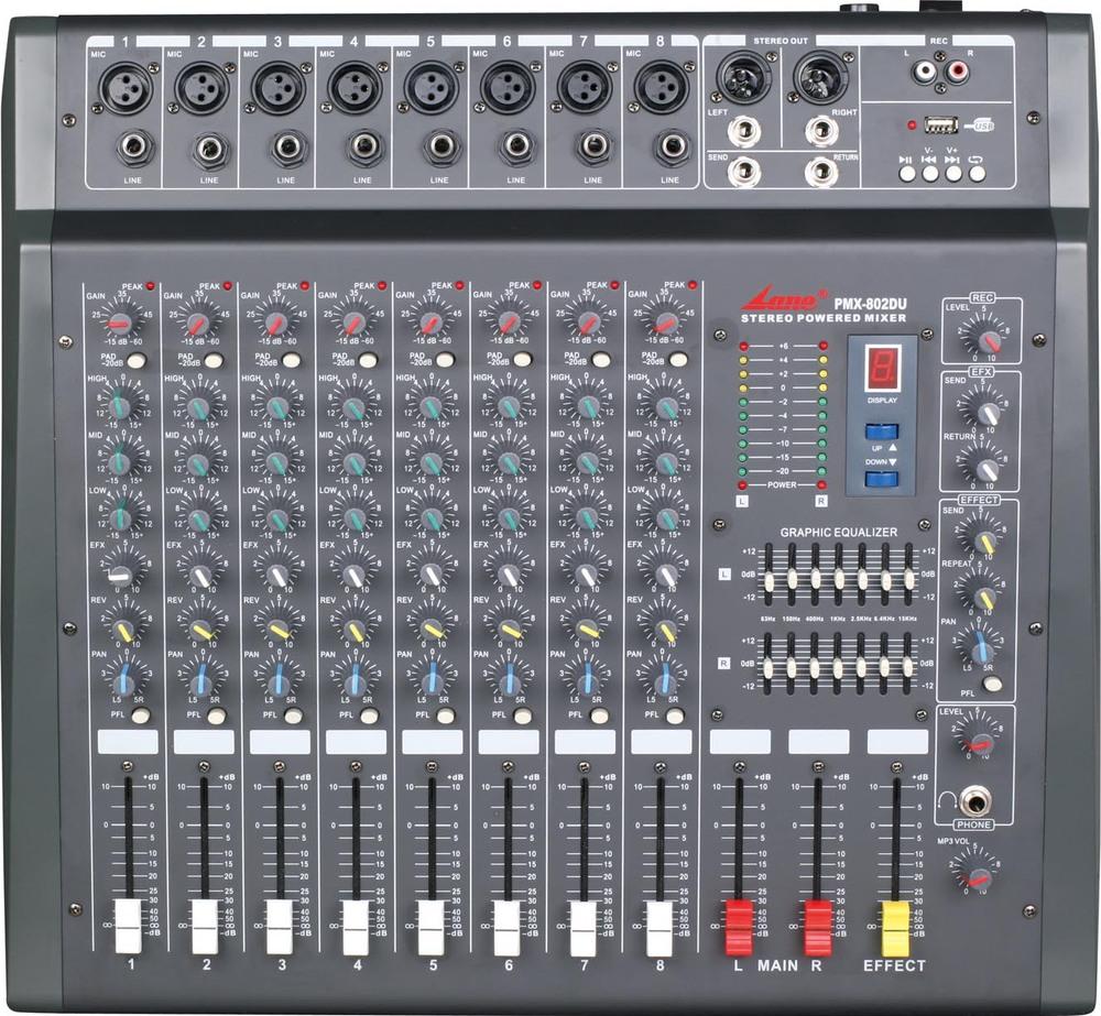 Lane 16 Channels Mixer Amplifier With Usb Pmx 1602du View Digital 6 Channel Audio