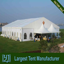 large event marquee tent with aluminium frame and PVC fabric