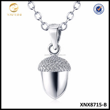 2016 Fashion Jewelry, Necklace <strong>Silver</strong> 925, Pine Cone Necklace