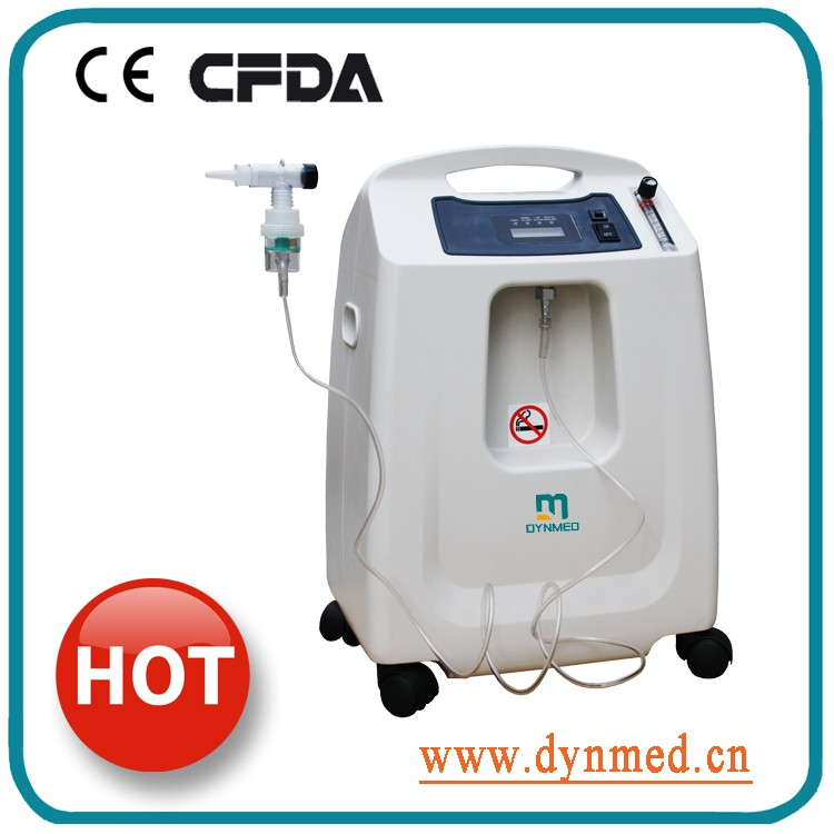 2017 New facial airbrush oxygen concentrator for beauty salon