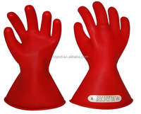 Rubber Safety Electrical Gloves