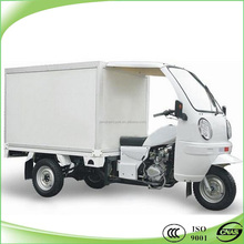 new design closed box motorcycle heavy load cargo tricycle