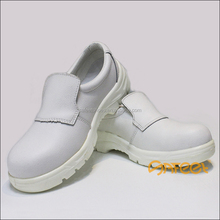 Guangzhou white micro fiber steel toe cap protection light weight cook shoes and clinic shoes and doctor shoe in China (SA-6109)