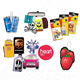 promotional customized design car air freshener /custom paper air freshener/hanging air freshener