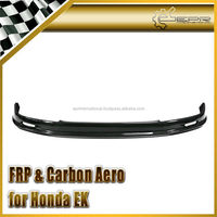 For Honda 99-00 EK fit Civic Mugen Carbon Fiber Front Lip