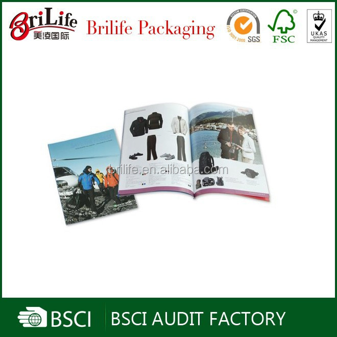 China Supplier Fashion high quality printing magazines