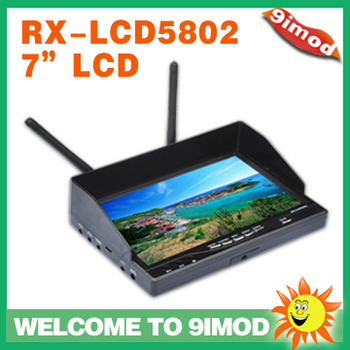 "Boscam RX-LCD5802 5.8Ghz Wireless FPV 7"" Diversity LCD Screen Receiver transparent lcd monitor"
