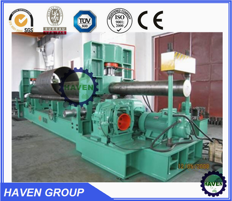 W11S-16X3000 hydraulic 3 roller bending machine 3 roller plate rolling machine