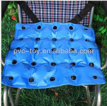 High quality PVC inflatable air mattress with hole for the disabled