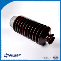 Superior quality porcelain ANSI 57-5 electrical line post 33kv insulator