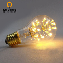Wholesale China E27 Filament A19 Firework LED Decorative Light Bulbs