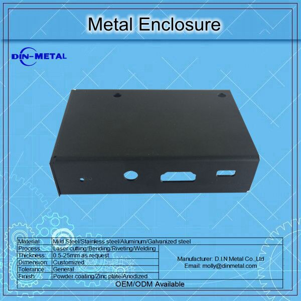 Sheet Metal Low Price Electronic Metal Enclosure / Chassis / Box Manufacture
